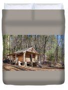 Historic Cabin Duvet Cover