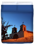 Historic Chiu Chiu Church Chile Duvet Cover