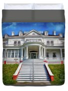 Historic Cone Manor Blue Ridge Parkway Ap Duvet Cover