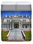 Historic Cone Manor Blue Ridge Parkway Duvet Cover