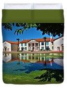 Historic Coolidge High School Duvet Cover