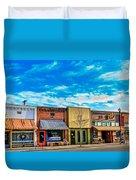 Historic Downtown Emmett 01 Duvet Cover