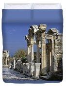 Historic Ephesus Duvet Cover