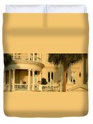 Historic Home On Battery Street Duvet Cover
