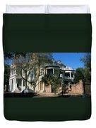 Historic Houses In A City, Charleston Duvet Cover