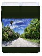 Historic Jungle Trail Vero Bch Fl II Duvet Cover