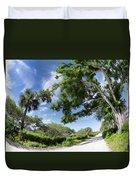 Historic Jungle Trail Vero Bch Fl I Duvet Cover