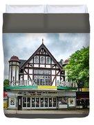 Historic Keswick Theater In Glenside Pa Duvet Cover