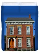 Historic Madison Row House Duvet Cover