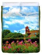 Historic Rochester Gardens Duvet Cover