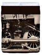 Historic Trains Duvet Cover