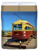 Historic Trolley Duvet Cover