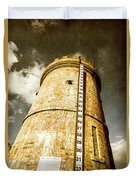Historic Water Storage Structure Duvet Cover