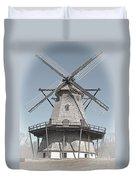 Historic Windmill Duvet Cover