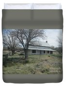 Historical Concho House Duvet Cover