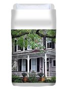 Historical Home In Wilmington Duvet Cover