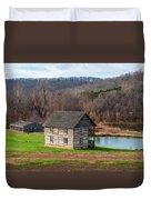 Historical House Duvet Cover