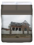 Historical House In Taylor Duvet Cover
