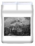 Historical Monument Of Our Country Duvet Cover