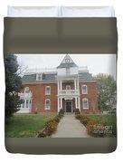 Historical Mormon House Duvet Cover