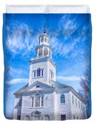 Historical Old First Church Duvet Cover