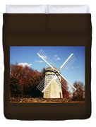 Historical Windmill Duvet Cover
