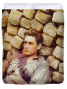 History In Color. French Resistance Fighter, Wwii Duvet Cover