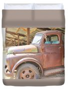 History On Wheels Duvet Cover