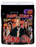 Hitman City Duvet Cover