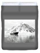Hms Endurance Antarctic Ice Patrol Ship Duvet Cover