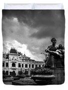 Ho Chi Minh City Hall Duvet Cover