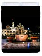 Ho Chi Minh City Hall At Night Duvet Cover