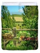 Hobbit Garden Duvet Cover