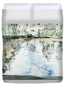 Hobby House And Ripples Duvet Cover