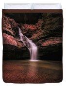 Hocking Hills Cedar Falls Long Exposure Duvet Cover