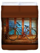 Hoi An Bike Duvet Cover