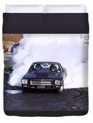 Holden Doing Burnout Duvet Cover