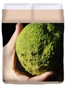 Holding A Tree Seed Duvet Cover