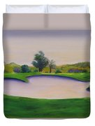 Hole 2 Nuttings Creek Duvet Cover