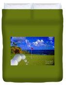 Fantastic 18th Green Duvet Cover