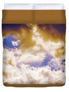 Hole In The Cloud Duvet Cover
