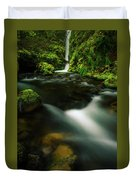 Hole In The Wall Falls Duvet Cover