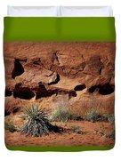 Holes - Yucca - Kodachrome Basin Duvet Cover