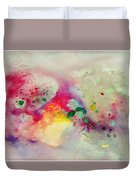 Holi-colorbubbles Abstract Duvet Cover