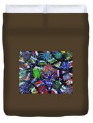 Holiday Abstract  Duvet Cover