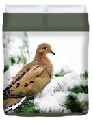 Holiday Dove Duvet Cover