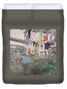 Holiday In Galicia Duvet Cover