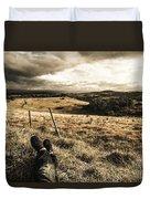 Holiday In Tasmania Duvet Cover