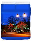 Holiday Lights Duvet Cover