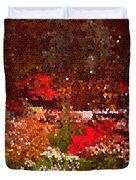 Holiday Mosaic Duvet Cover